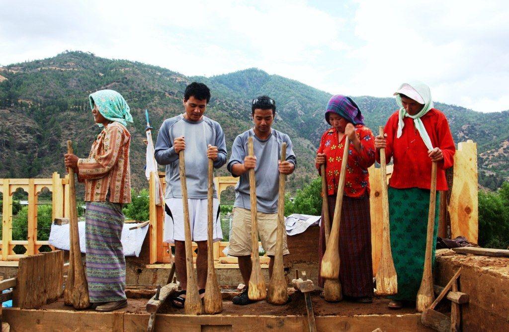 ブータンの伝統建築